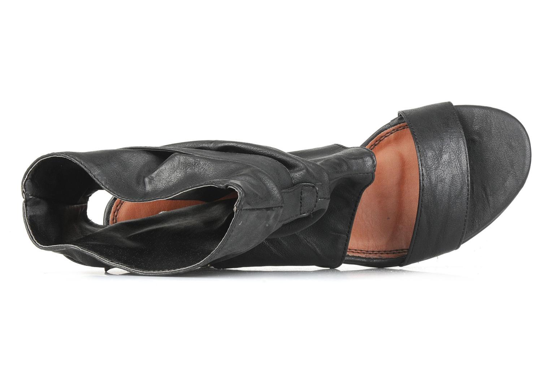 Sandales et nu-pieds Spot On Marila Noir vue gauche