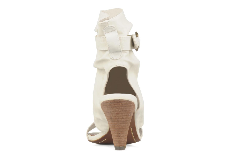 Sandales et nu-pieds Spot On Marila Blanc vue droite