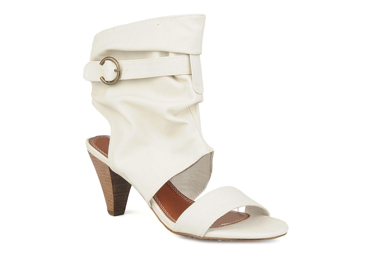 Sandales et nu-pieds Spot On Marila Blanc vue détail/paire