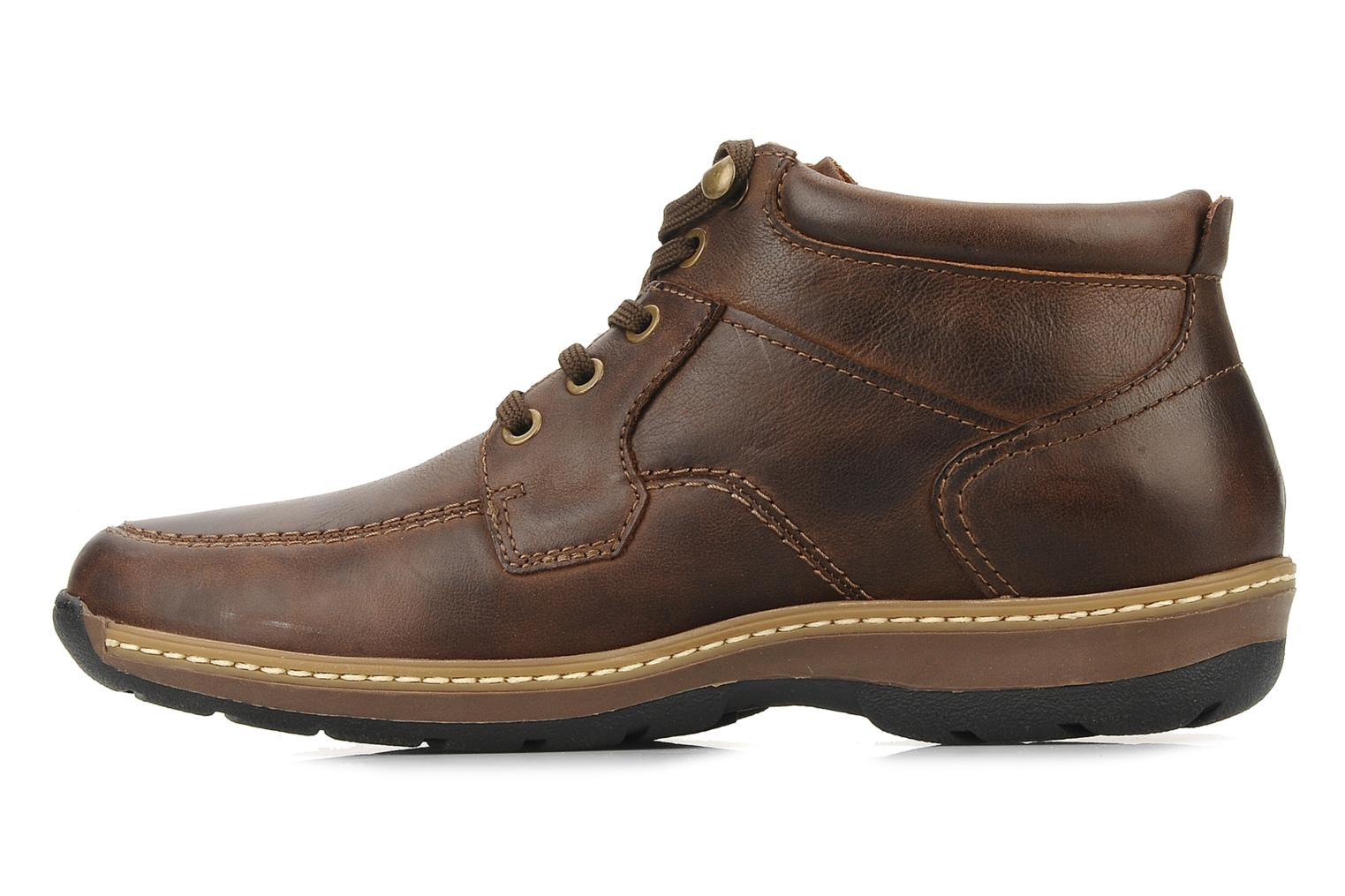 Ankle boots Pikolinos Seattle 5577f Brown front view