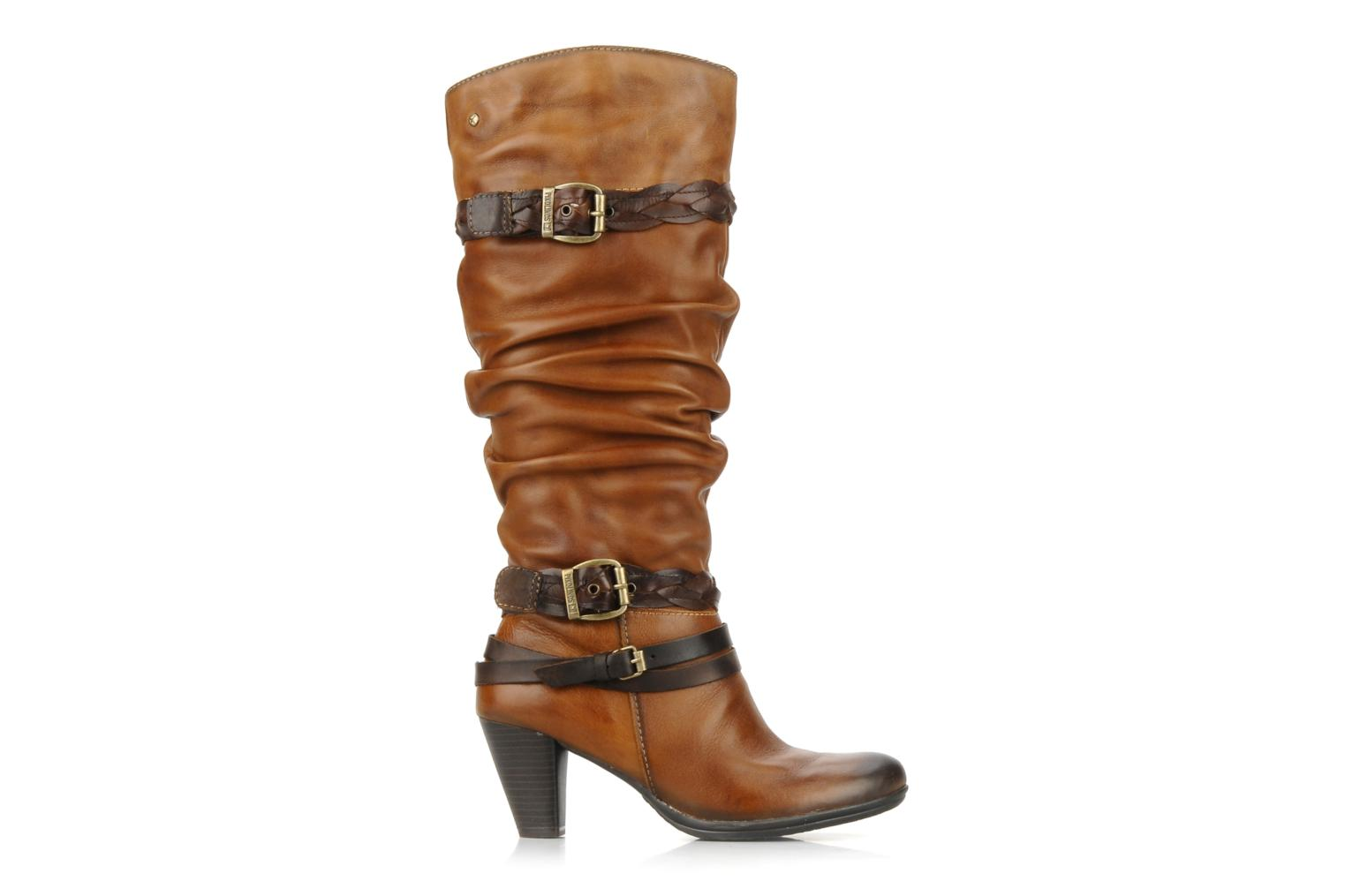 Boots & wellies Pikolinos Verona 8563 Brown back view