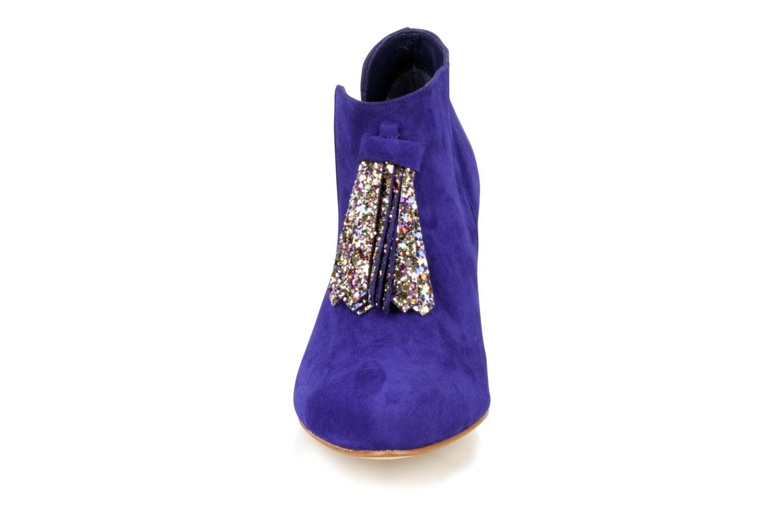 Bottines et boots Patricia Blanchet Pl55 bis Bleu vue portées chaussures