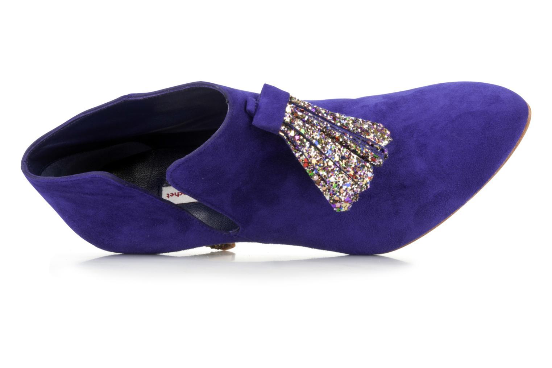 Bottines et boots Patricia Blanchet Pl55 bis Bleu vue gauche