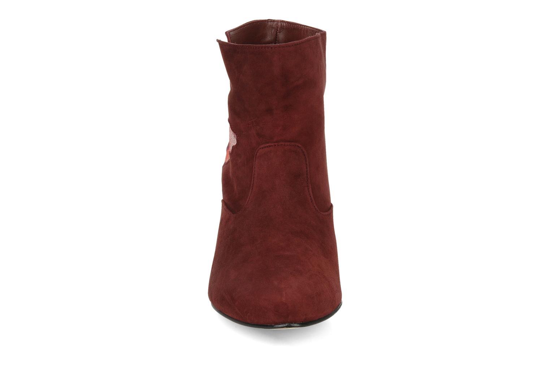 Bottines et boots Patricia Blanchet Jessica Bordeaux vue portées chaussures