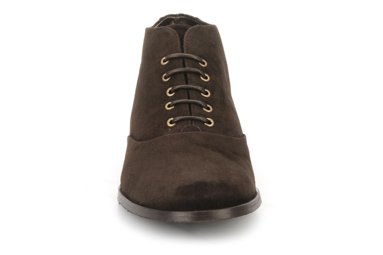 Bottines et boots Georgia Rose Nonou Marron vue portées chaussures