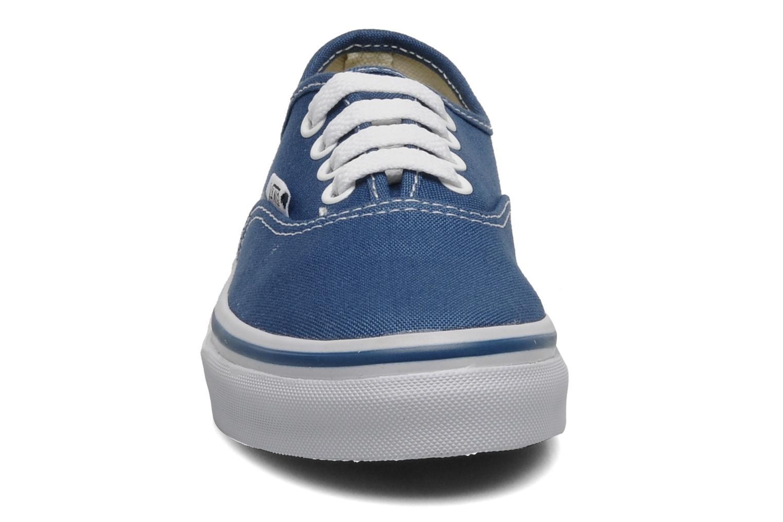 Deportivas Vans Authentic E Azul vista del modelo