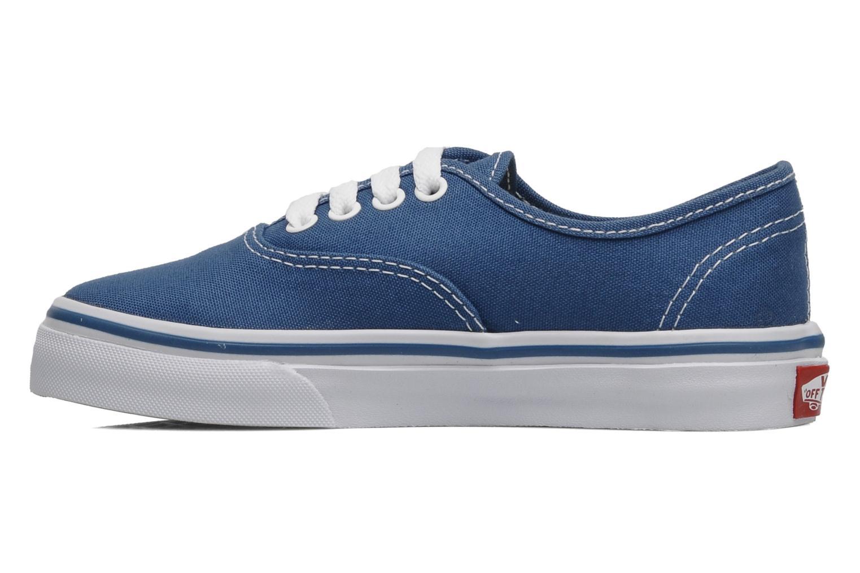 Sneakers Vans Authentic E Blauw voorkant
