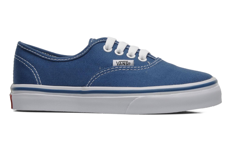 Baskets Vans Authentic E Bleu vue derrière
