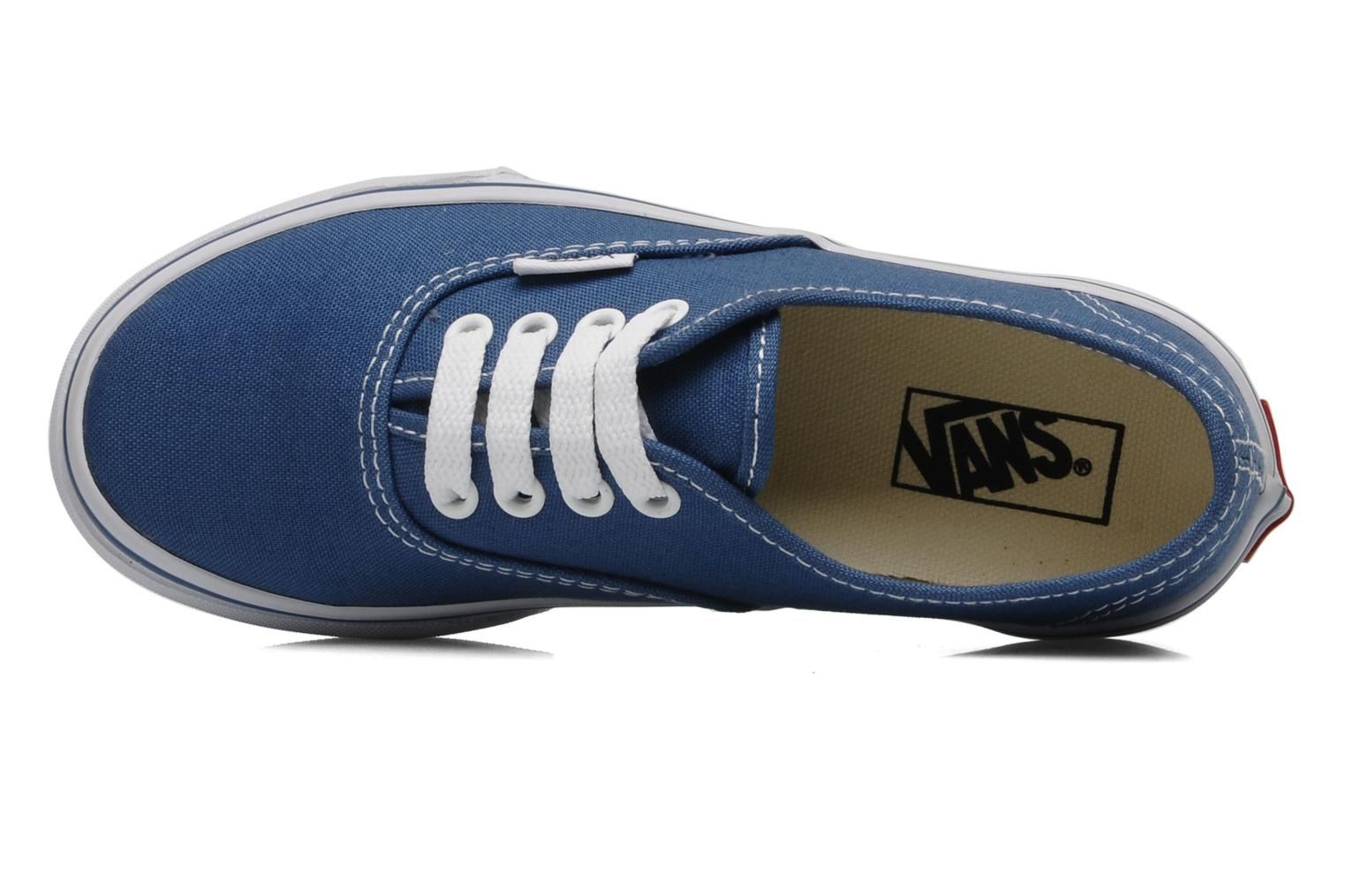 Sneaker Vans Authentic E blau ansicht von links