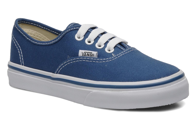 Sneakers Vans Authentic E Blauw detail