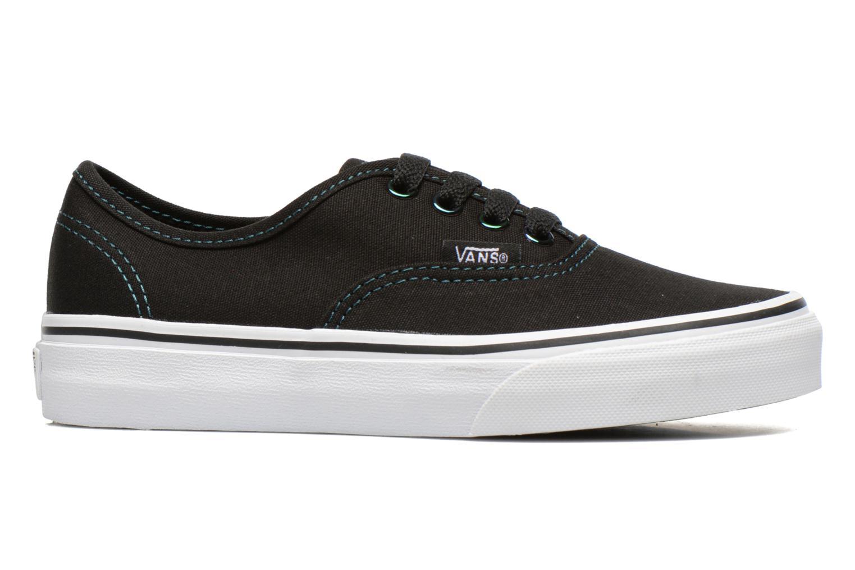 Sneakers Vans Authentic E Zwart achterkant