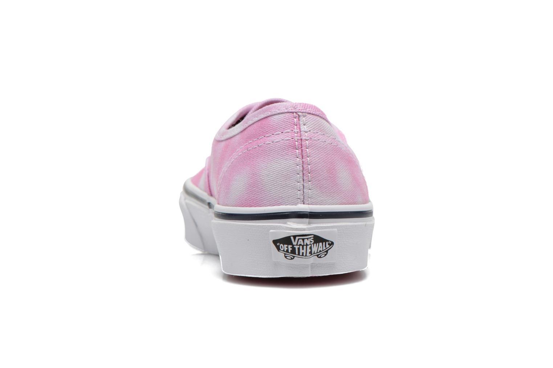 Sneaker Vans Authentic E rosa ansicht von rechts