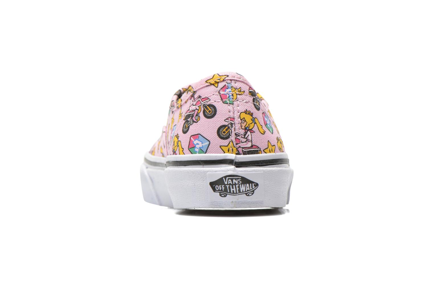 Baskets Vans Authentic E Rose vue droite