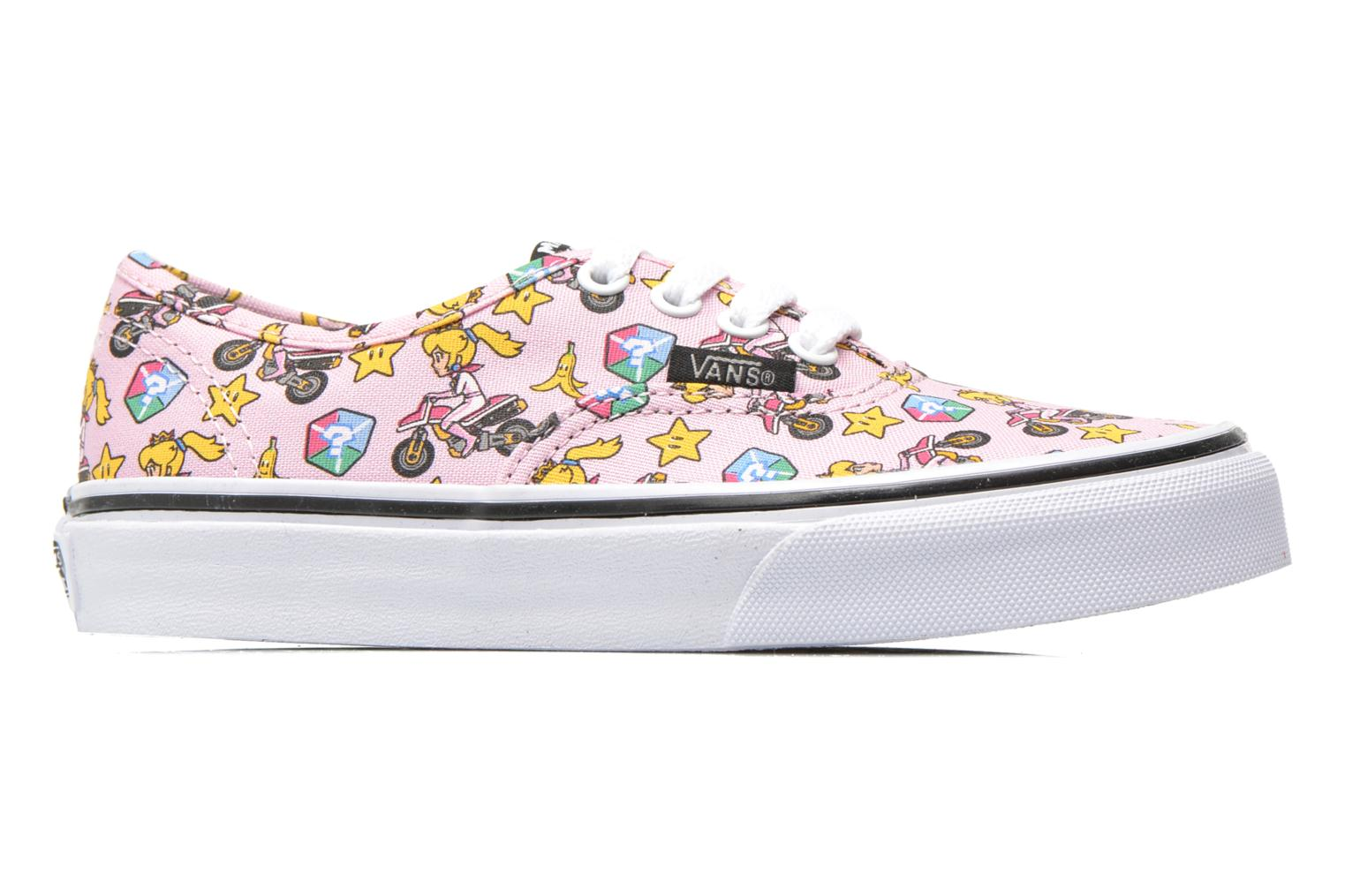 Baskets Vans Authentic E Rose vue derrière