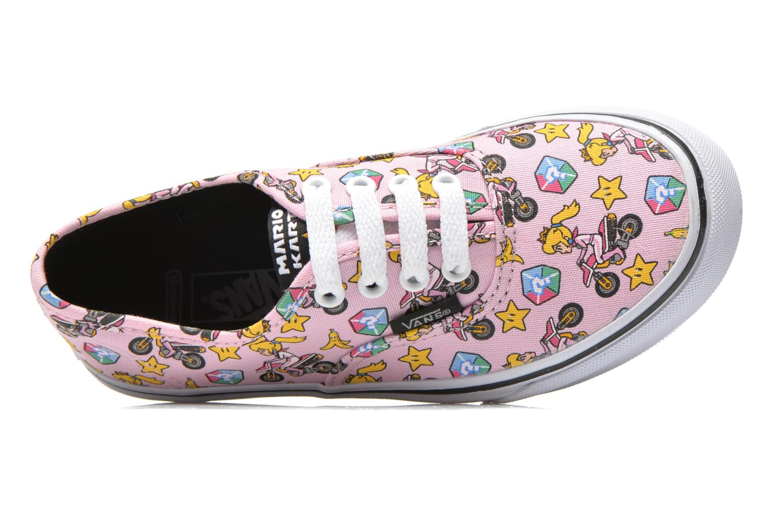 Sneaker Vans Authentic E rosa ansicht von links
