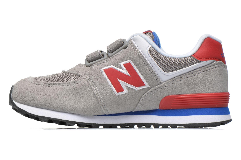 Sneaker New Balance Kv574NEI grau ansicht von vorne