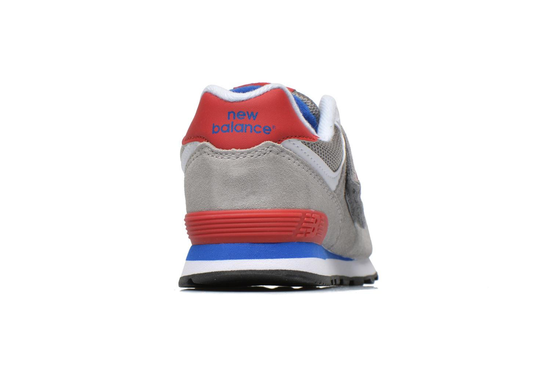 Sneaker New Balance Kv574NEI grau ansicht von rechts
