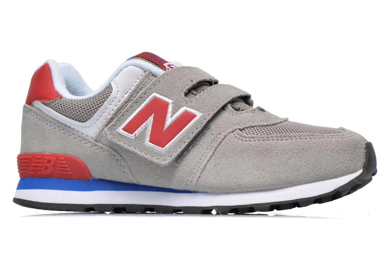 Sneaker New Balance Kv574NEI grau ansicht von hinten