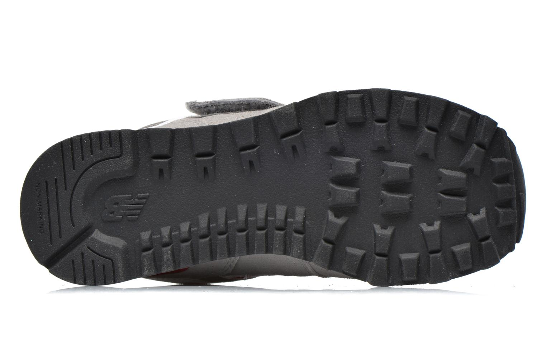 Sneaker New Balance Kv574NEI grau ansicht von oben