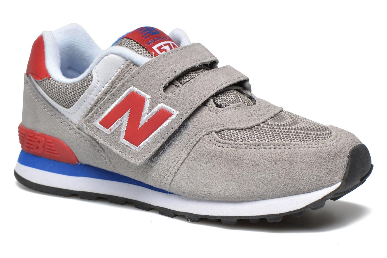 Sneaker New Balance Kv574NEI grau detaillierte ansicht/modell