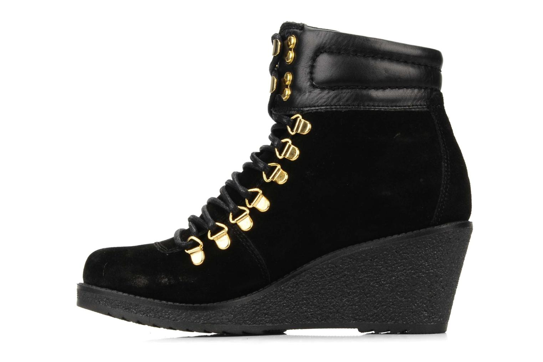 Bottines et boots Carvela Sierra Noir vue face