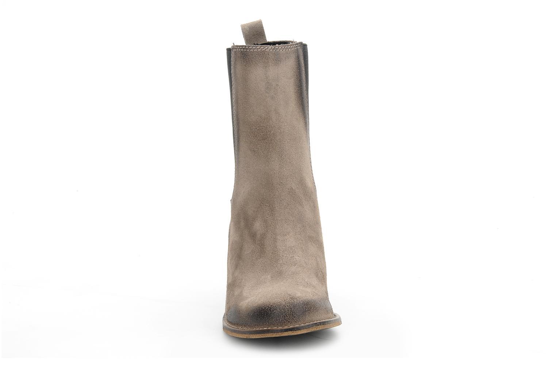 Bottines et boots Jeffrey Campbell Areas Gris vue portées chaussures