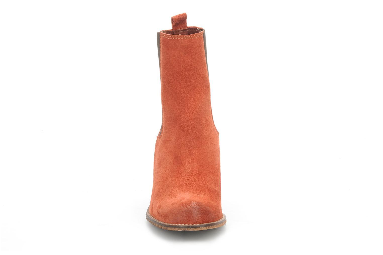 Bottines et boots Jeffrey Campbell Areas Orange vue portées chaussures
