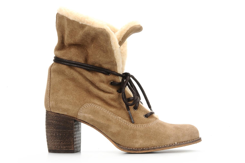 Bottines et boots Jeffrey Campbell Azure Beige vue derrière