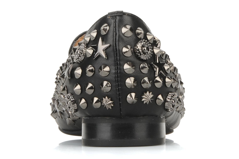 Mocassins Jeffrey Campbell Elegant studs Noir vue droite