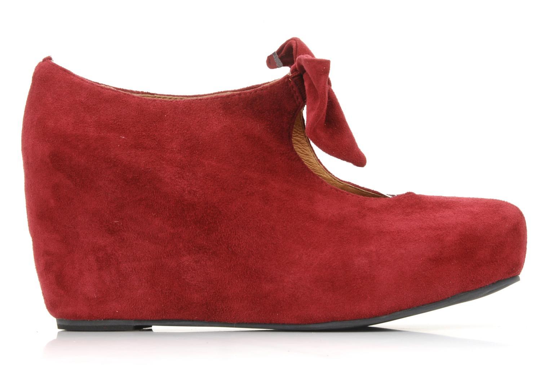 High heels Jeffrey Campbell Papillon Burgundy back view