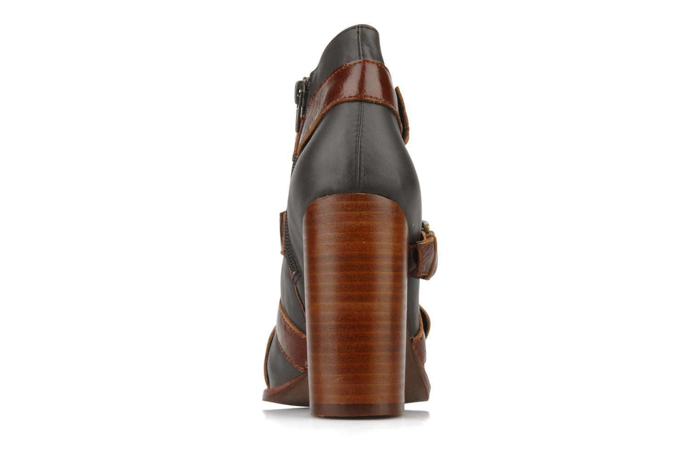 Bottines et boots Jeffrey Campbell Stone Gris vue droite