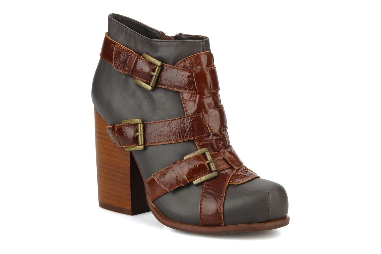 Bottines et boots Jeffrey Campbell Stone Gris vue détail/paire