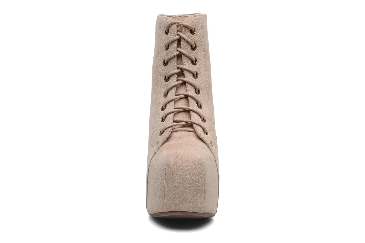 Ankle boots Jeffrey Campbell Lita Beige model view