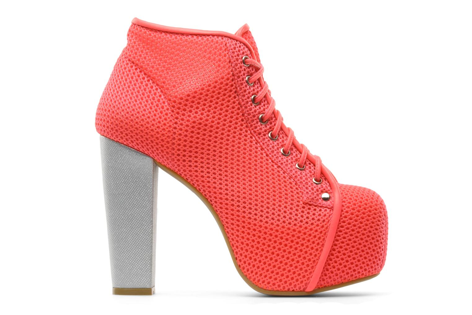 Ankle boots Jeffrey Campbell Lita Pink back view