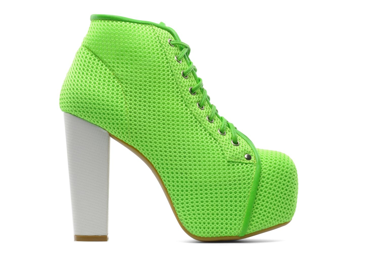 Ankle boots Jeffrey Campbell Lita Green back view