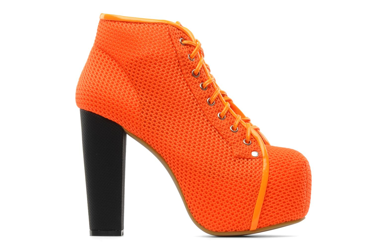 Ankle boots Jeffrey Campbell Lita Orange back view
