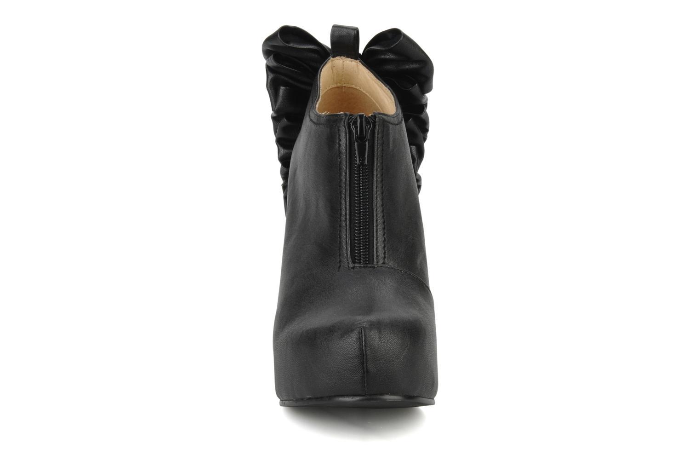 Bottines et boots Jeffrey Campbell Back bow Noir vue portées chaussures