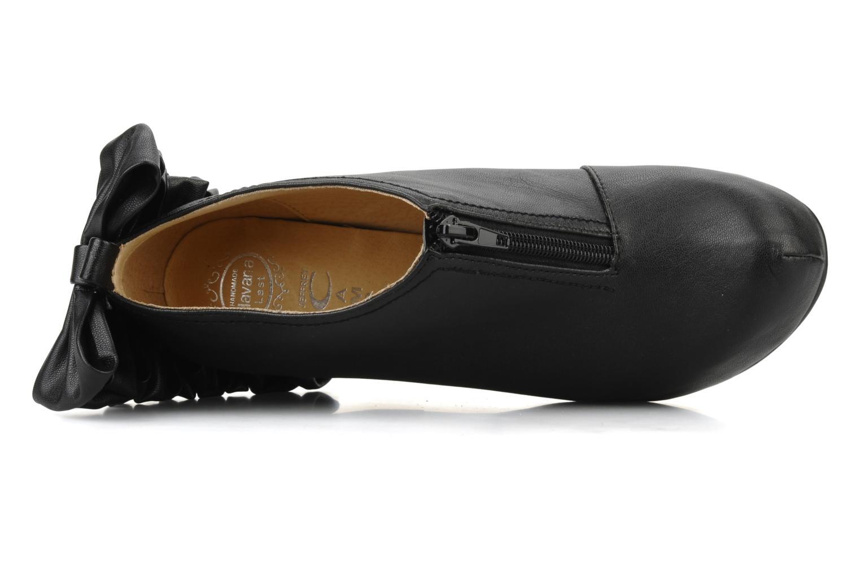 Bottines et boots Jeffrey Campbell Back bow Noir vue gauche