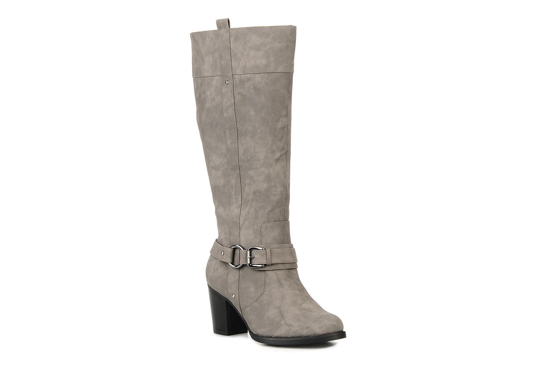 Bottes I Love Shoes Clarita Gris vue détail/paire