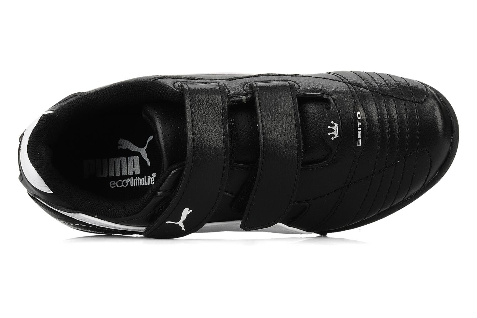 Sport shoes Puma Esito finale tt trainer v Black view from the left