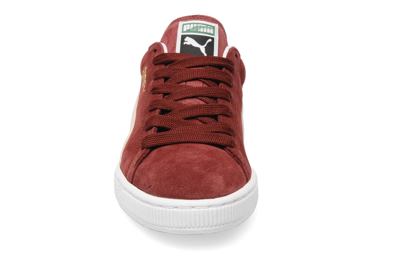 Trainers Puma Suede Classic + Burgundy model view