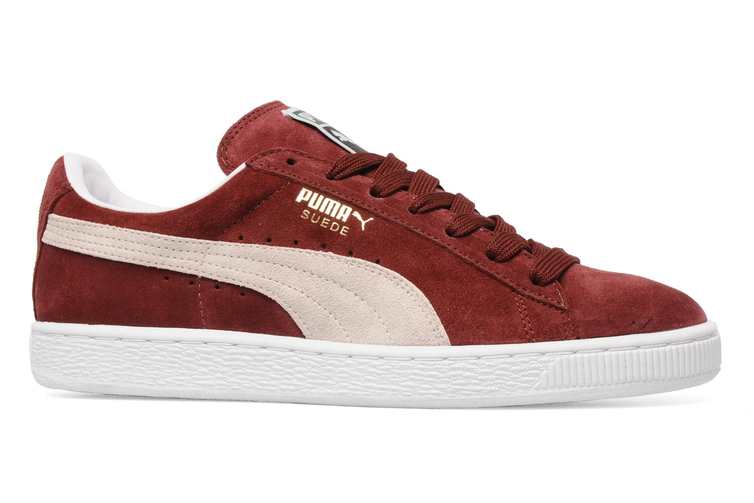 Trainers Puma Suede Classic + Burgundy back view