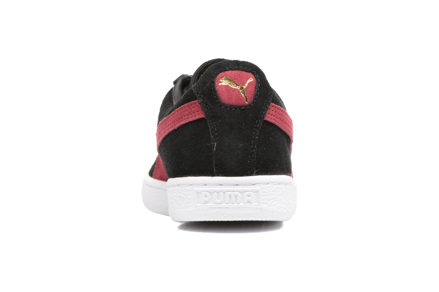 Suede Classic + Black/red