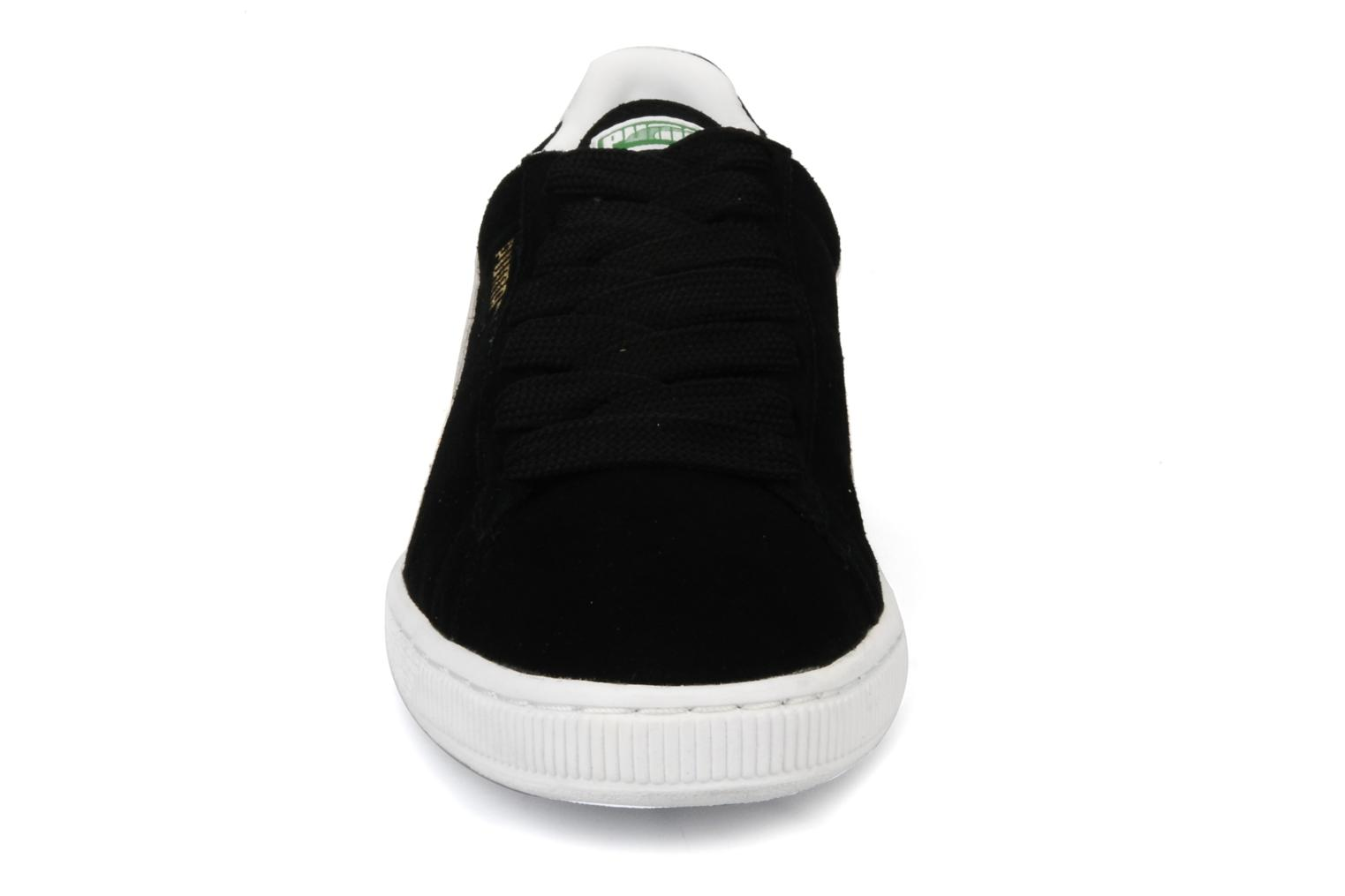 Trainers Puma Suede Classic + Black model view
