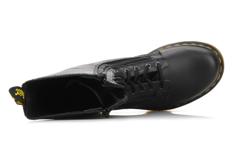 Boots en enkellaarsjes Dr. Martens 9733 Zwart links