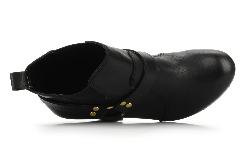 Bottines et boots French Connection Joby Noir vue gauche