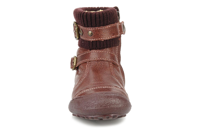 Bottines et boots Primigi Megha Bordeaux vue portées chaussures