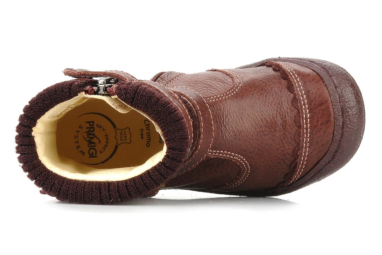 Bottines et boots Primigi Megha Bordeaux vue gauche