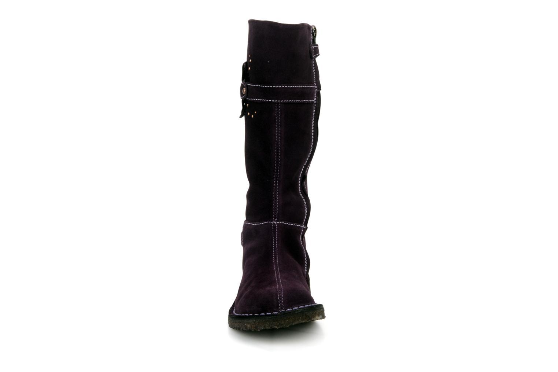 Bottes Primigi Sherylyn Violet vue portées chaussures