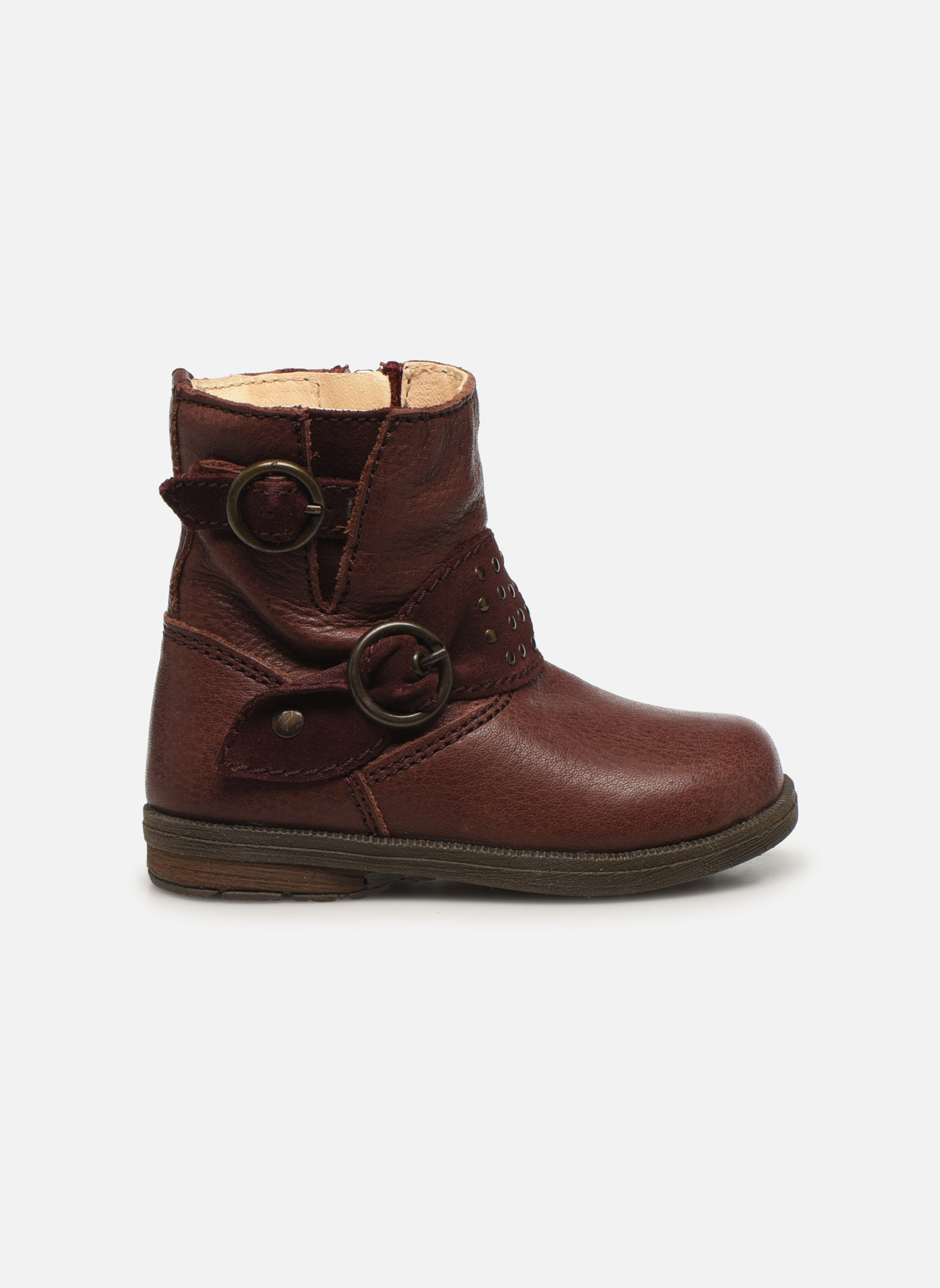 Bottines et boots Primigi Corinna Bordeaux vue derrière